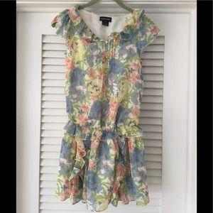 Ralph Lauren Beautiful Floral Flounce Dress